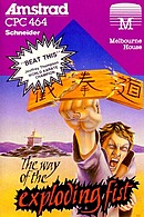 jaquette Amstrad CPC The Way Of The Exploding Fist
