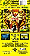jaquette Amstrad CPC The Way Of The Tiger