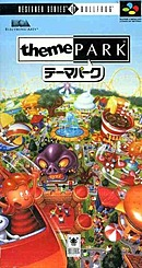 jaquette Super Nintendo Theme Park