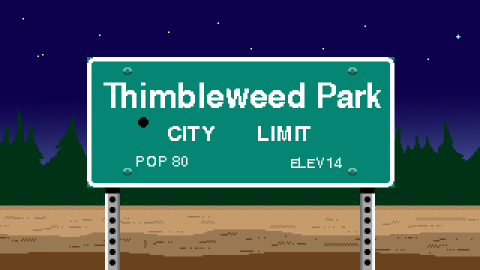 jaquette Xbox One Thimbleweed Park