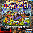 jaquette PC Three Dirty Dwarves