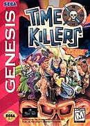 jaquette Megadrive Time Killers