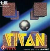 jaquette PC Engine CD ROM Titan