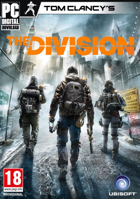 jaquette PC Tom Clancy s The Division