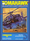 jaquette Commodore 64 Tomahawk