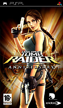 jaquette PSP Tomb Raider Anniversary