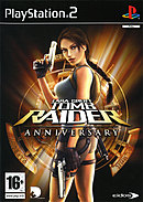 jaquette PlayStation 2 Tomb Raider Anniversary