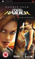 jaquette PSP Tomb Raider Double Pack