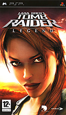 jaquette PSP Tomb Raider Legend