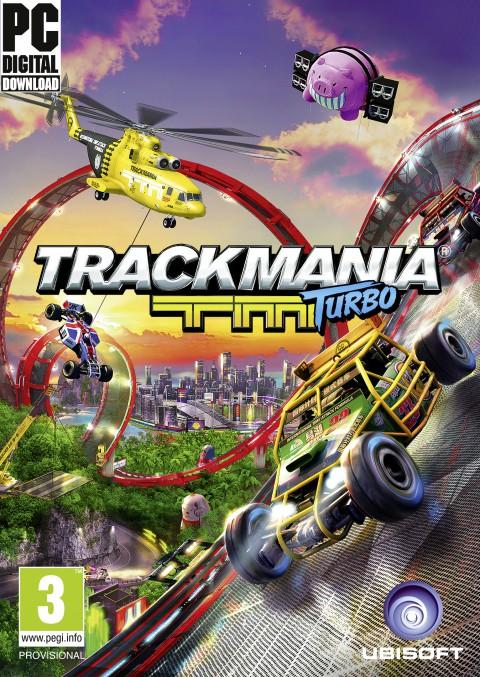 jaquette PC TrackMania Turbo