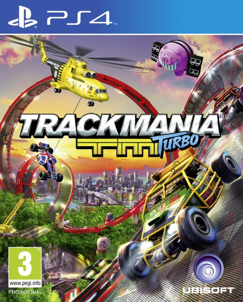 jaquette PlayStation 4 TrackMania Turbo
