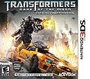 jaquette Nintendo 3DS Transformers 3 La Face Cachee De La Lune