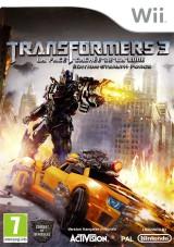 jaquette Wii Transformers 3 La Face Cachee De La Lune