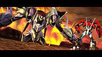 Transformers Prime Wii U screenshot Optimus Prime faces Thunderwing