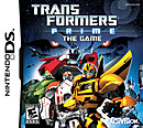 jaquette Nintendo DS Transformers Prime The Game