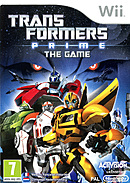 jaquette Wii Transformers Prime The Game