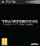 jaquette PlayStation 3 Transformers Rise Of The Dark Spark