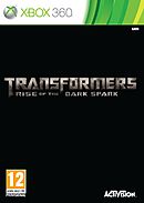 jaquette Xbox 360 Transformers Rise Of The Dark Spark