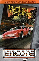 jaquette Amstrad CPC Turbo Esprit