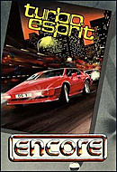 jaquette Commodore 64 Turbo Esprit