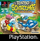 jaquette PlayStation 1 Turbo Schtroumpfs