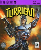jaquette PC Engine CD ROM Turrican