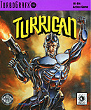 jaquette PC Engine Turrican