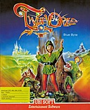 jaquette Amstrad CPC TwinWorld Land Of Vision