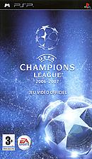 jaquette PSP UEFA Champions League 2006 2007