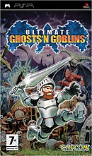 jaquette PSP Ultimate Ghosts n Goblins