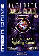 jaquette Megadrive Ultimate Mortal Kombat 3