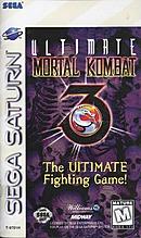 jaquette Saturn Ultimate Mortal Kombat 3