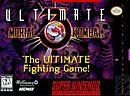 jaquette Super Nintendo Ultimate Mortal Kombat 3