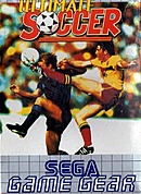 jaquette Game Gear Ultimate Soccer