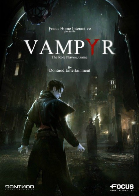 jaquette PlayStation 4 Vampyr
