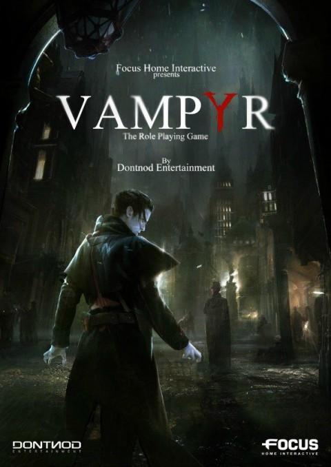 jaquette PlayStation 4 Vampyr