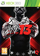 jaquette Xbox 360 WWE 13