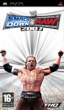 jaquette PSP WWE Smackdown Vs Raw 2007