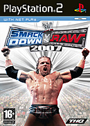 jaquette PlayStation 2 WWE Smackdown Vs Raw 2007