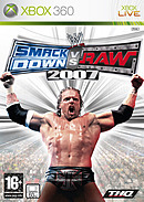 jaquette Xbox 360 WWE Smackdown Vs Raw 2007