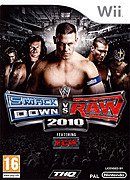 jaquette Wii WWE Smackdown Vs Raw 2010