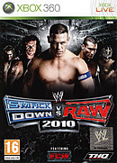 jaquette Xbox 360 WWE Smackdown Vs Raw 2010