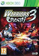 jaquette Xbox 360 Warriors Orochi 3