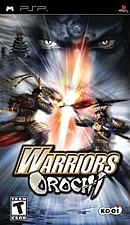 jaquette PSP Warriors Orochi