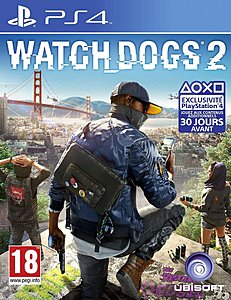 jaquette PlayStation 4 Watch Dogs 2