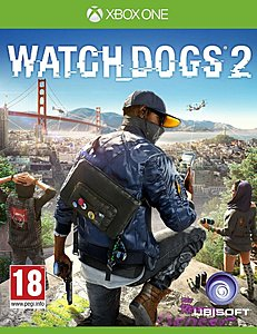 jaquette Xbox One Watch Dogs 2