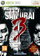 jaquette Xbox 360 Way Of The Samurai 3
