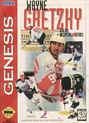 jaquette Megadrive Wayne Gretzky And The NHLPA All Stars