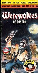 jaquette Amstrad CPC Werewolves Of London