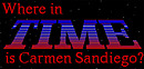 jaquette Amiga Where In Time Is Carmen Sandiego